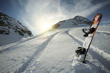 Free powder mountain view