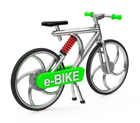 Photo pour e-Bike - image libre de droit