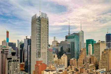 Foto für Panoramic view of Midtown Manhattan in New York City during the day. - Lizenzfreies Bild
