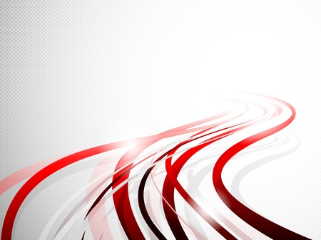 Foto per Abstract wavy background  Bright illustration - Immagine Royalty Free