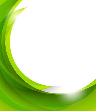 Ilustración de Abstract green background - Imagen libre de derechos