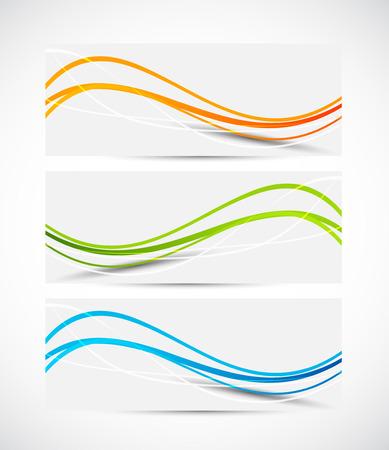 Ilustración de Set of banners - Imagen libre de derechos