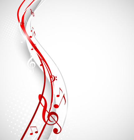 Illustration for Music background - Royalty Free Image