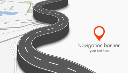 Illustration pour navigation concept - image libre de droit