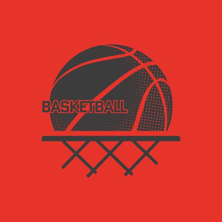 Illustration pour Basketball vector illustration . Print on t-shirt. Sport - image libre de droit