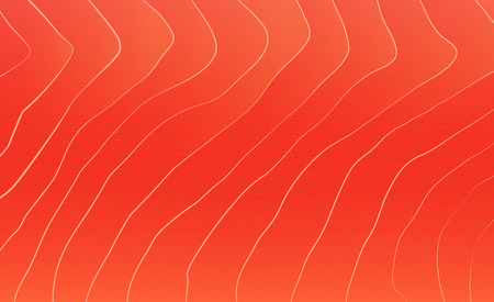 Illustration for Red salmon texture. Fish background.  - Royalty Free Image