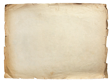 Photo for Vintage texture old paper background isolated on white - Royalty Free Image