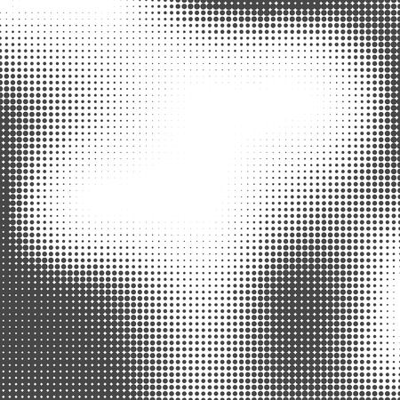Foto de Halftone background. Halftone dots. Halftone wallpaper.  Halftone grunge. Halftone effect. Simple Vector Halftone Texture. - Imagen libre de derechos