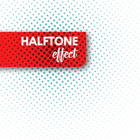 Illustration pour Halftone background. Halftone dots. Halftone wallpaper.  Halftone grunge. Halftone effect. Simple Vector Halftone Texture. - image libre de droit