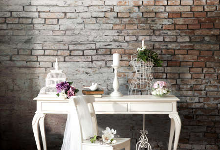Foto de Wedding concept interior decor - Imagen libre de derechos
