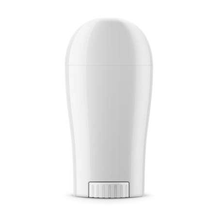 Ilustración de White glossy dry deodorant stick. - Imagen libre de derechos