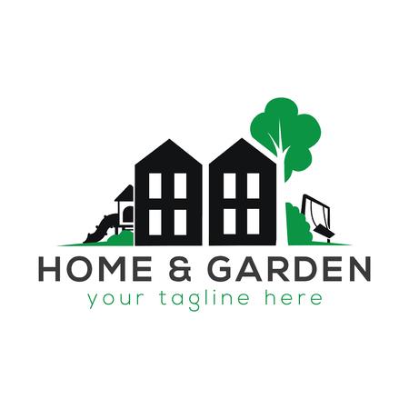Foto für Home and Garden Logo Vector - Lizenzfreies Bild