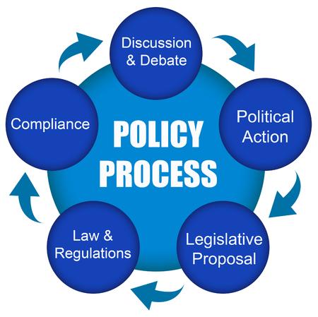 Photo pour Policy illustration - image libre de droit
