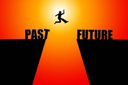 Photo pour Good future illustration - image libre de droit