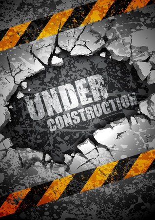 Photo pour under construction  - image libre de droit