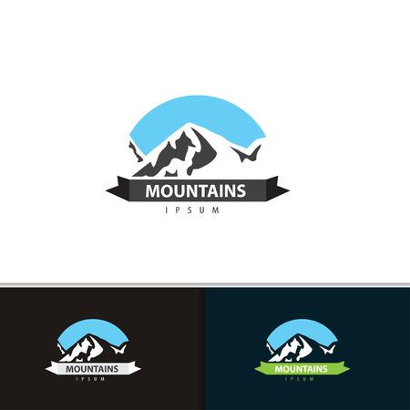 Illustration pour Mountain  design.  - image libre de droit
