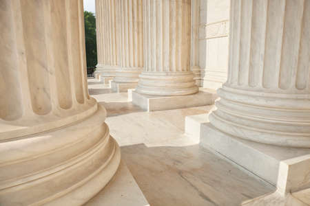 Photo for Marble columns of the Supreme Court of the United States - Royalty Free Image