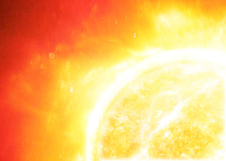 Photo for The sun in space. - Royalty Free Image
