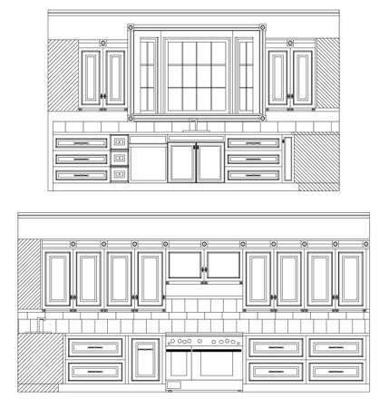 Home Kitchen Elevation