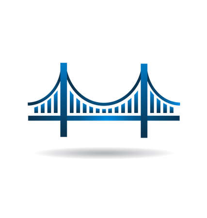 Blue Bridge Icon
