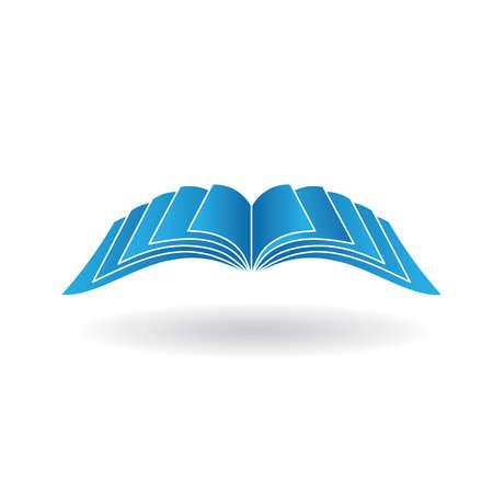 Ilustración de Open book signage - Imagen libre de derechos