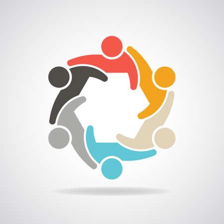 Ilustración de People for infographic group of persons - Imagen libre de derechos