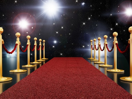 Photo for Red carpet night - Royalty Free Image