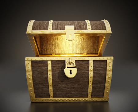Photo pour Treasure Chest - image libre de droit