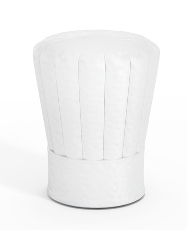 Foto de Chef's hat isolated on white background. - Imagen libre de derechos