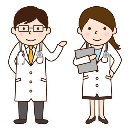 Illustration pour Doctor - image libre de droit