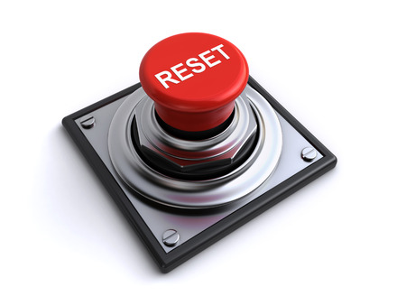 Foto de reset button - Imagen libre de derechos