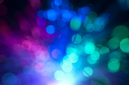 Photo for Blurry background with optical fibers - Royalty Free Image