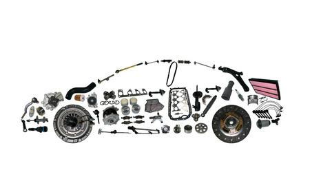Foto de acceleration car detail drive engine force garage gear - Imagen libre de derechos