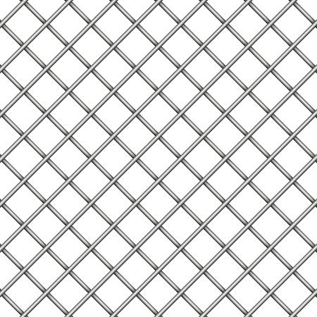 Illustration pour Seamless industrial metal carbon texture vector background grid backdrop dark grey - image libre de droit