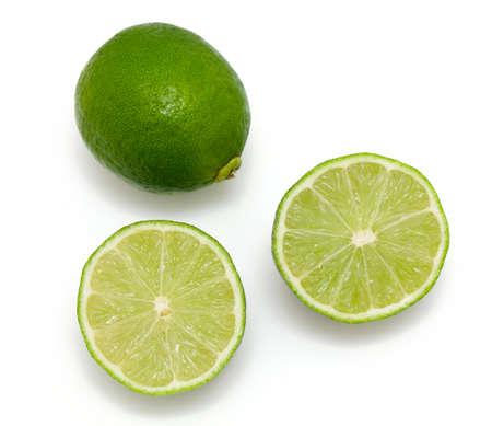 Foto de lime isolated on white background - Imagen libre de derechos