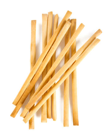 Photo for bread sticks isolated on white - Royalty Free Image