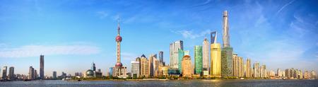 Photo for Shanghai skyline panorama China - Royalty Free Image