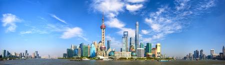 Photo for Shanghai Pudong skyline panorama, China - Royalty Free Image