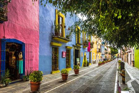 Photo for Callejon de los Sapos - Puebla, Mexico - Royalty Free Image