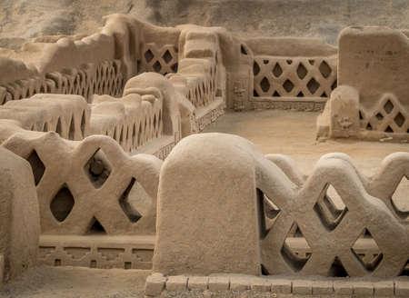 Photo pour Ancient ruins of Chan Chan - Trujillo, Peru - image libre de droit