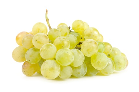 Photo for White Grapes Isolated on White Background - Royalty Free Image