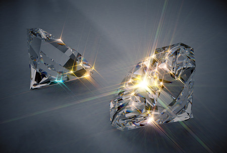 Photo for Sparkling Diamonds - Royalty Free Image