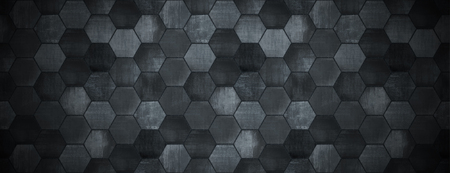 Foto de Dark Tiled Background with Spotlight Website Head - Imagen libre de derechos