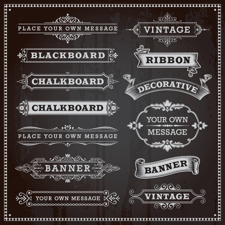 Illustration pour Vintage design elements  - image libre de droit