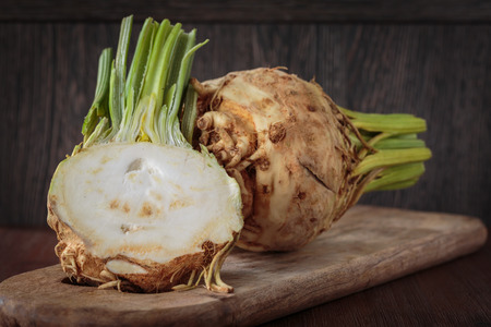 Photo for Fresh raw celeriac - Royalty Free Image