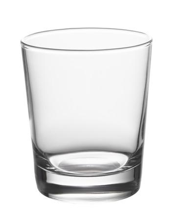 Photo pour Empty glass isolated on white background - image libre de droit