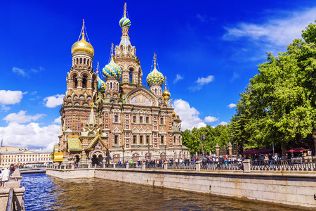 Photo for The Church of the Savior on Blood in St. Petersburg - Royalty Free Image