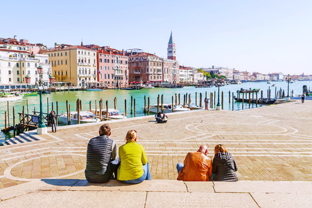 Photo for Embankment in Venice, Italy - Royalty Free Image