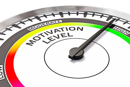 Photo pour Motivation level concept - image libre de droit