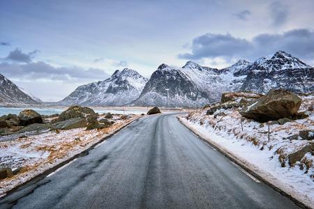 Foto per Road in Norway - Immagine Royalty Free